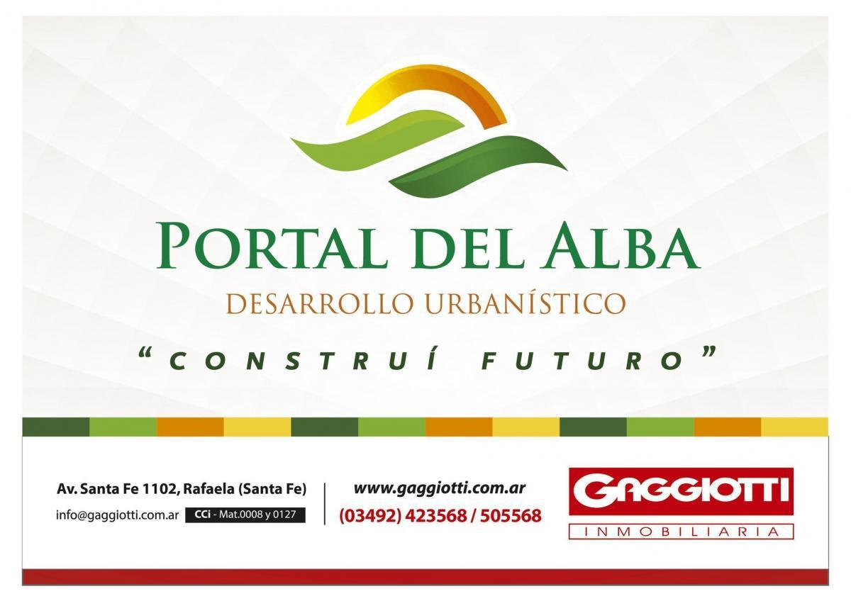 PORTAL DEL ALBA - Gaggiotti Inmobiliaria cuenta con más de 50 años desde que se inicio en el negocio de los servicios inmobiliarios.