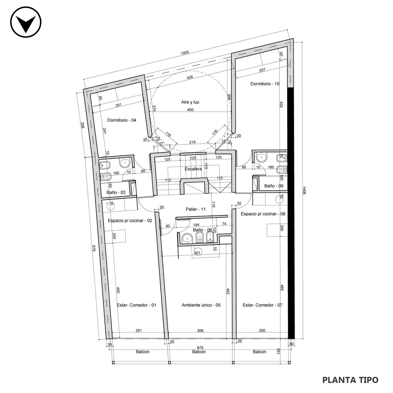 Venta departamento 1 dormitorio Rosario, Remedios De Escalada De San Martin. Cod CBU23822 AP2240048. Crestale Propiedades