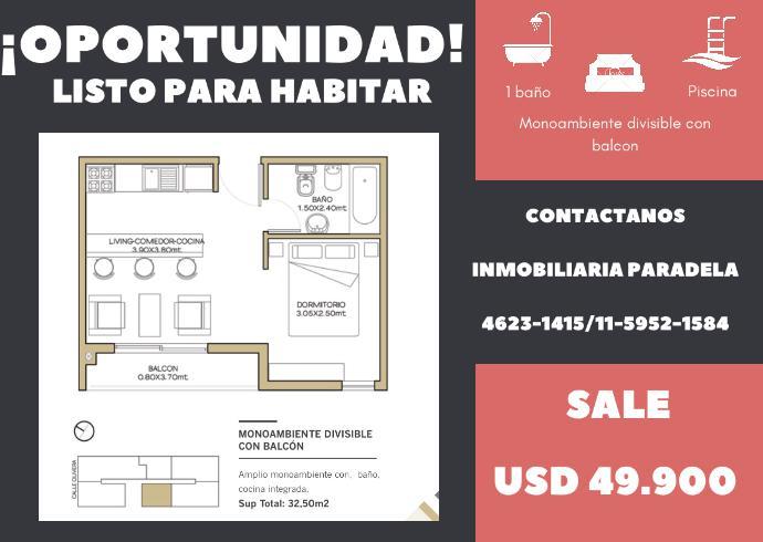 FotoDepartamento en Venta |  en  Ituzaingó Sur,  Ituzaingó  Olivera al 1000