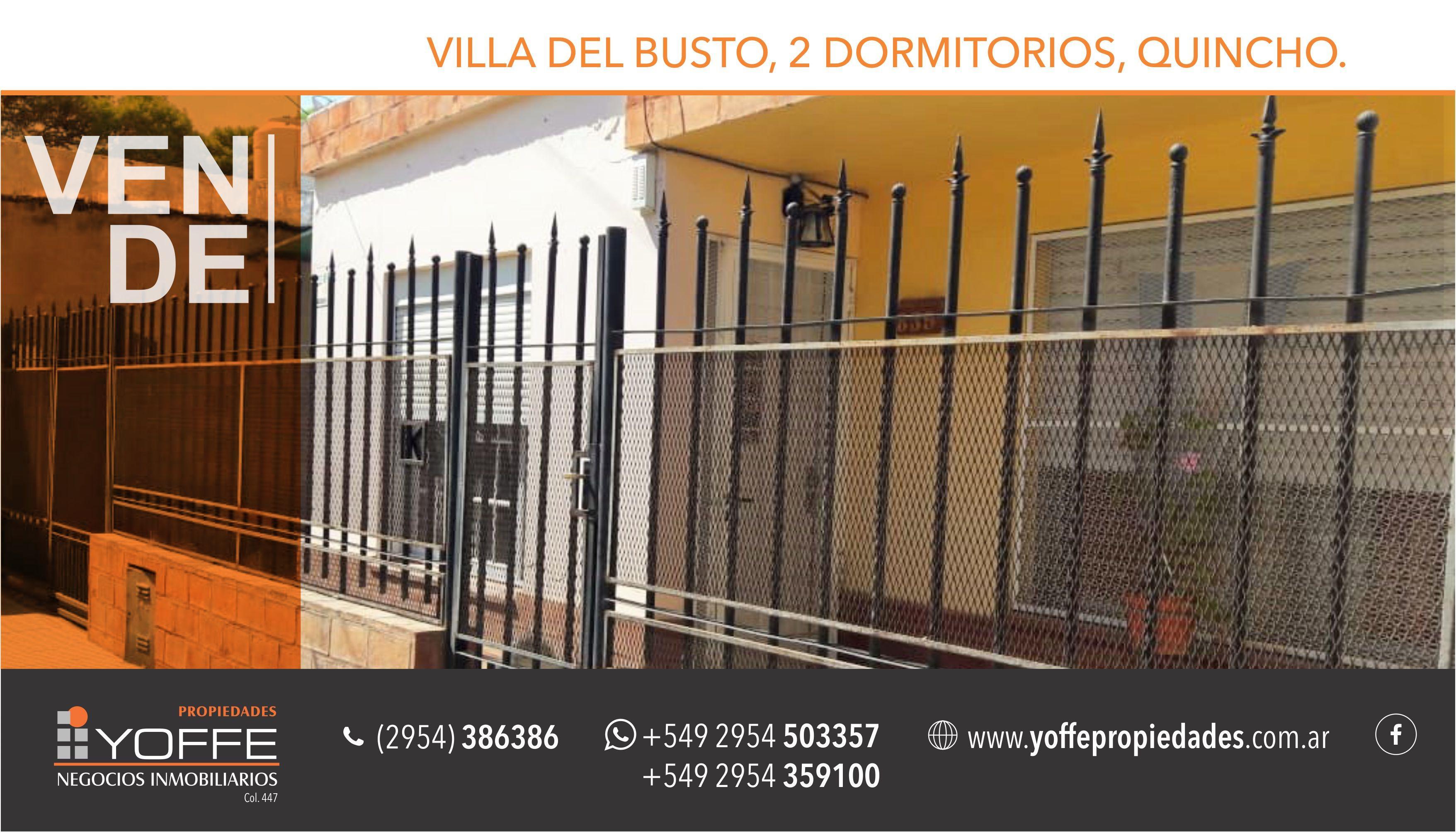 FotoCasa en Venta    en  Villa del Busto,  Santa Rosa  Buenos Aires  al 800