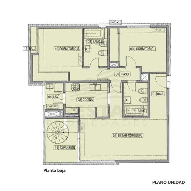 Venta departamento 2 dormitorios Funes, Funes. Cod CBU23049 AP2208846. Crestale Propiedades