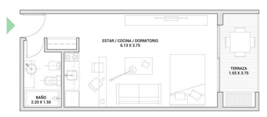 Foto Departamento en Venta en  Villa Urquiza ,  Capital Federal  Gamarra