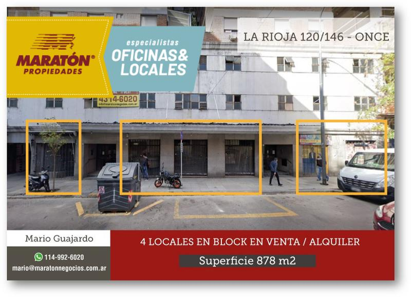 Foto Local en Venta en  Once ,  Capital Federal  La Rioja al 100