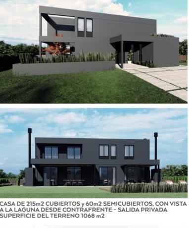 Foto Casa en Venta en  San Matías Altos de  Maschwitz,  Escobar  LOTE FRENTE LAGUNA . BARRIO CERRADO SAN MATIAS