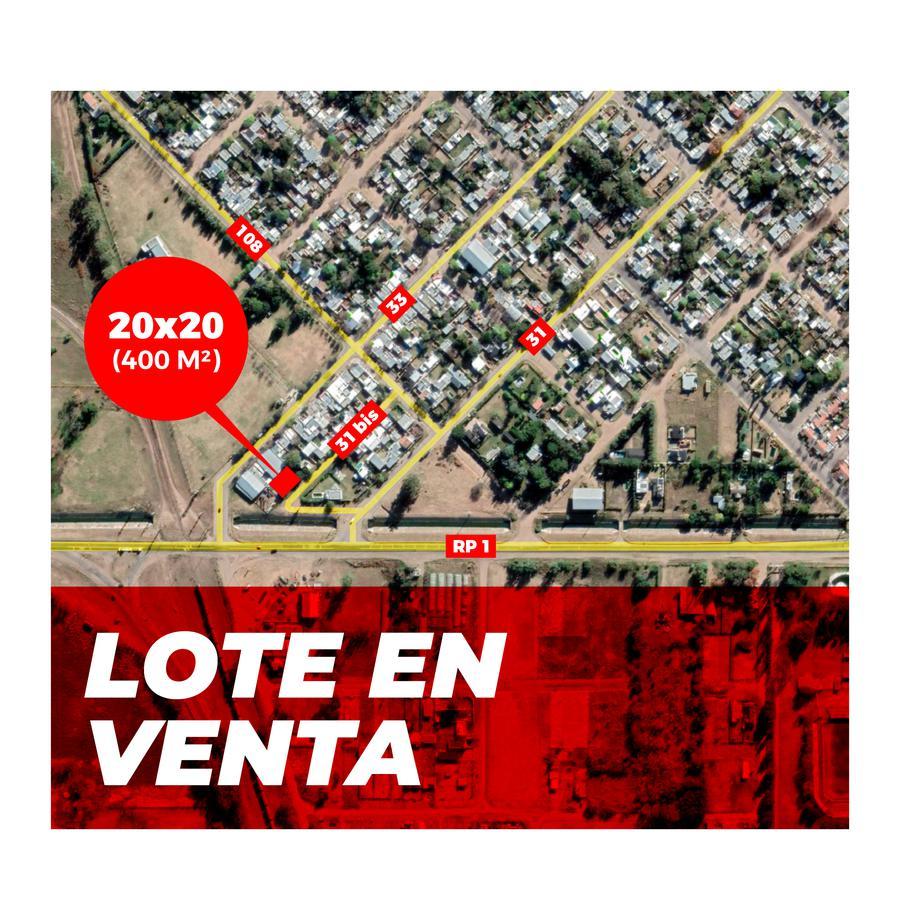 Foto Terreno en Venta en  General Pico,  Maraco  31 bis e/ 108 y RP 1
