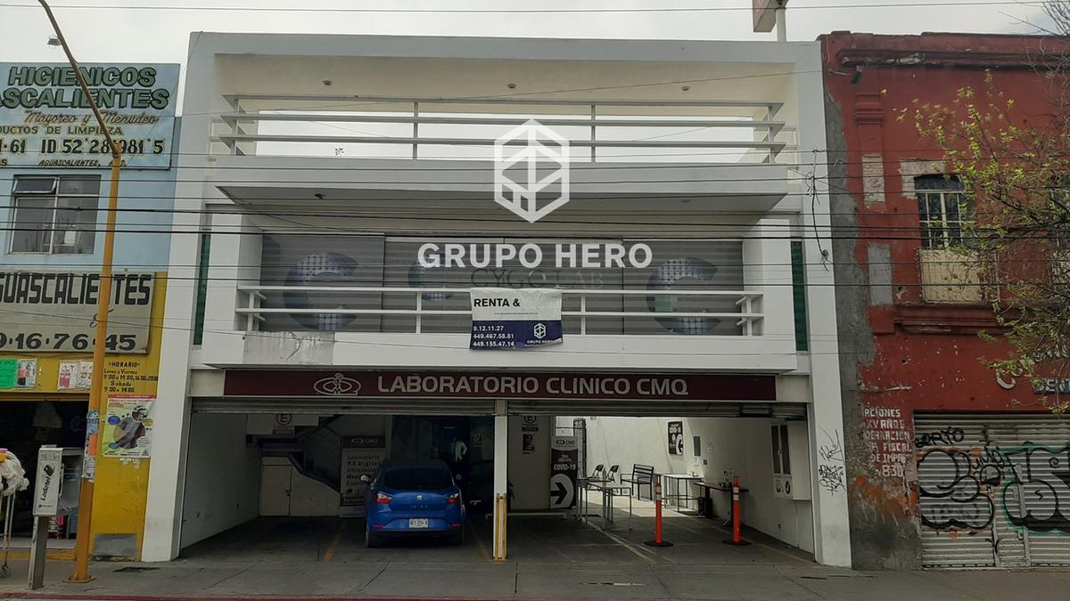 Foto Local en Renta en  Barrio La Estación,  Aguascalientes  Oficina en Renta sobre Av. Alameda