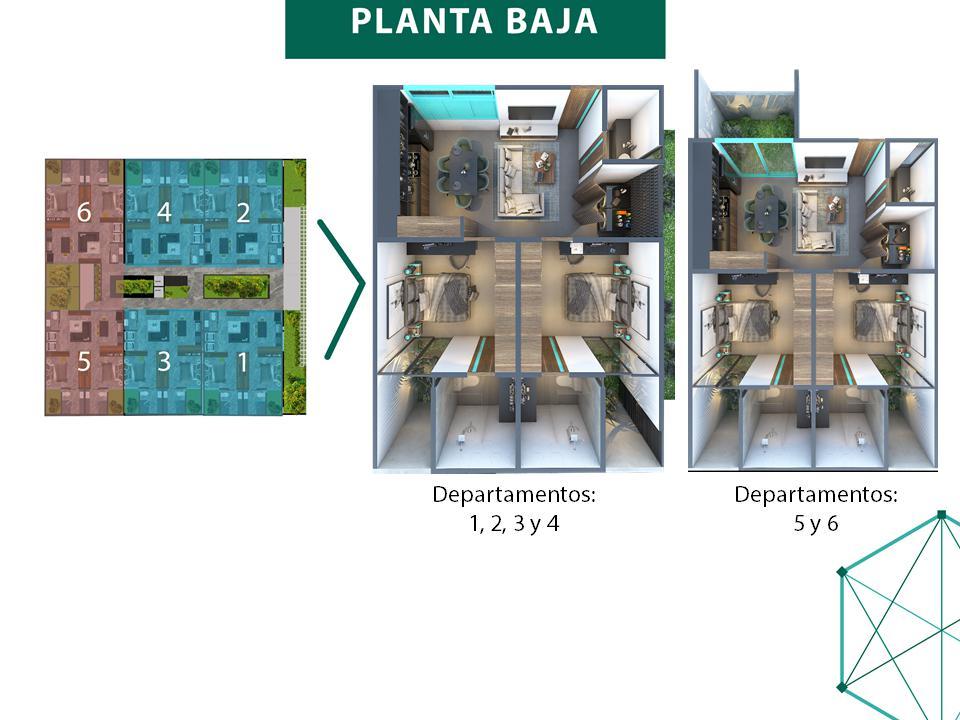 Foto Departamento en Venta en  Montes de Ame,  Mérida  Taliva - Preventa de excelentes apartamentos en privada residencial dentro de la ciudad de Mérida.