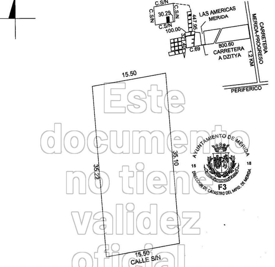 Foto Terreno en Venta en  Fraccionamiento Las Américas,  Mérida  Terrerno en Venta Magnifica Inversión - Ubicación al Norte de Mérida