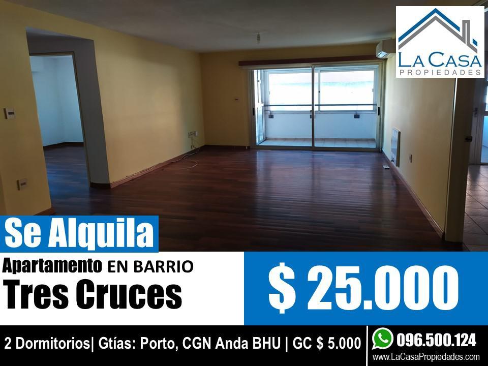 Foto Apartamento en Alquiler en  Tres Cruces ,  Montevideo  Av Italia al 2500