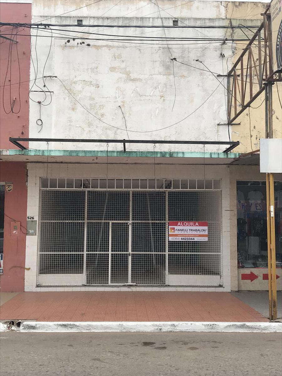 Foto Local en Alquiler en  Centro,  Presidencia Roque Saenz Peña  San Martin N° al 526