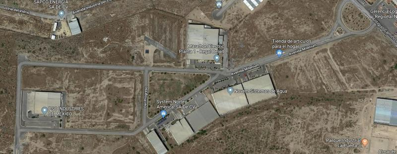 Foto Terreno en Venta |  en  T.A.D. Pemex Refineria,  Santa Catarina  TERRENO INDUSTRIAL SANTA CATARINA EN VENTA