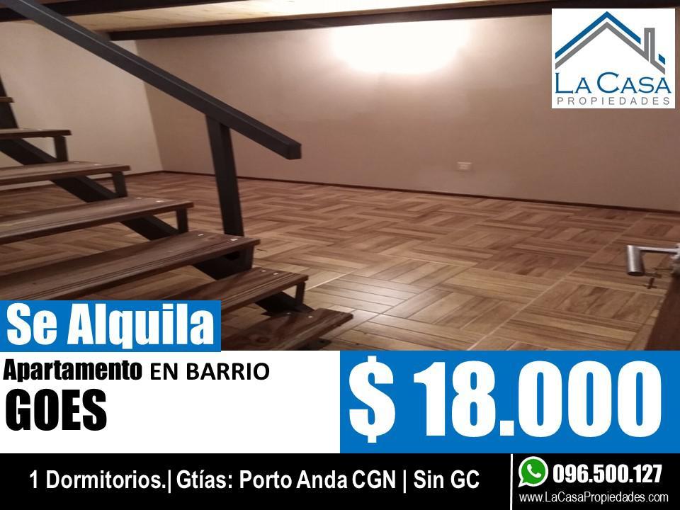 Foto Apartamento en Alquiler en  Goes ,  Montevideo  General Flores al 2400