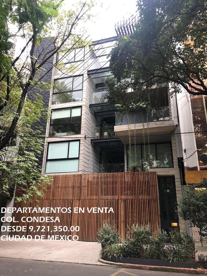 Foto Departamento en Venta en  Cuauhtemoc ,  Ciudad de Mexico  Departamentos en VENTA, Colonia Condesa, Ciudad de México