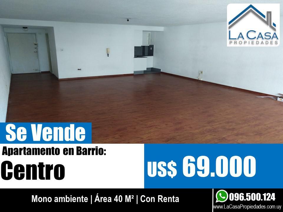 Foto Apartamento en Venta en  Centro (Montevideo),  Montevideo  Soriano 800