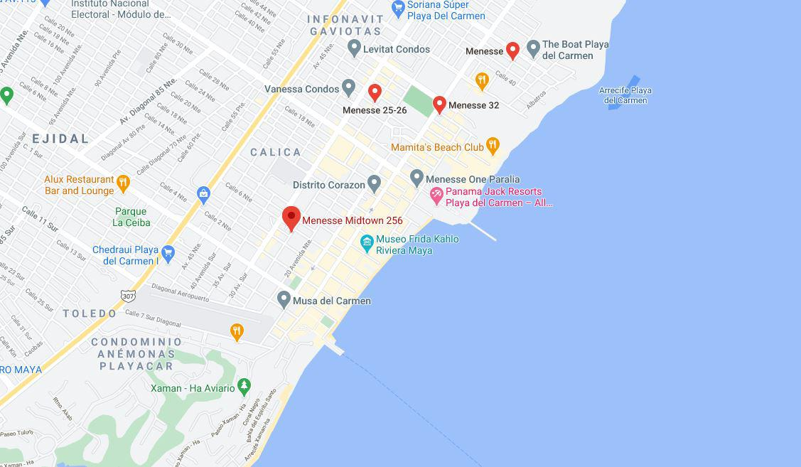 Foto Departamento en Venta en  Playa del Carmen,  Solidaridad  DEPARTAMENTO TIPO ESTUDIO EN EL CENTRO A 3 MIN. DE LA PLAYA