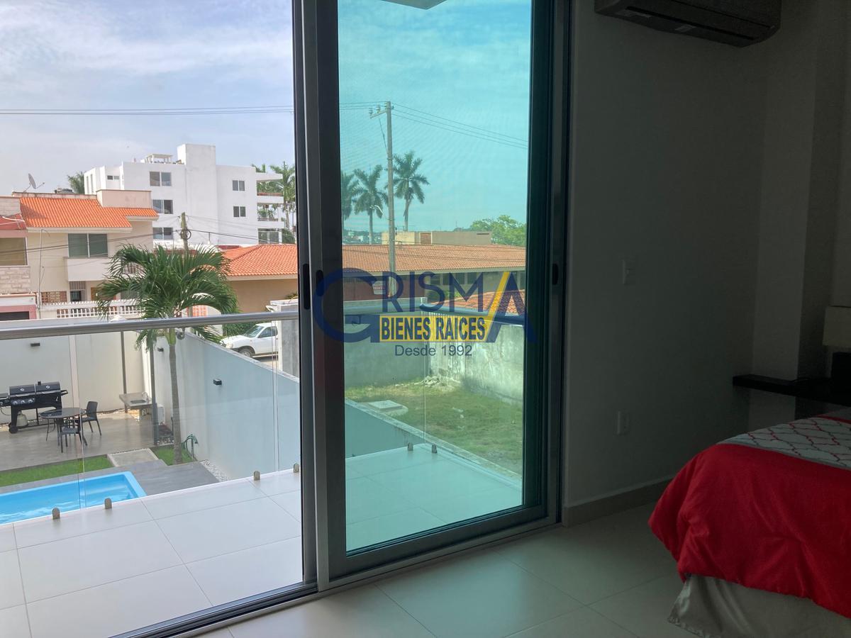 Foto Departamento en Renta en  Jardines de Tuxpan,  Tuxpan  PRECIOSO DEPARTAMENTO AMUEBLADO EN ZONA RESIDENCIAL