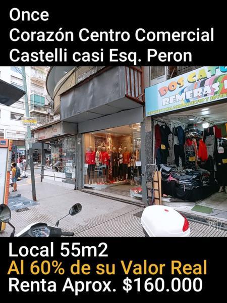 Foto Local en Venta en  Once ,  Capital Federal  CASTELLI al 200