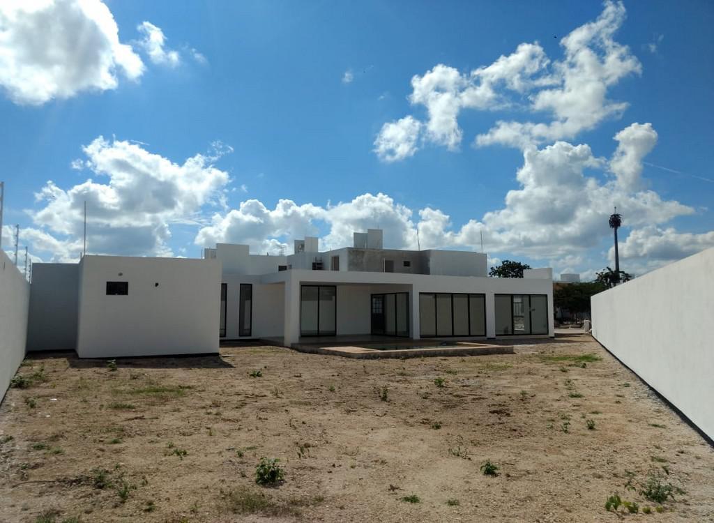 Foto Casa en Venta en  Pueblo Conkal,  Conkal  Casa de 1 Planta Privada Botánico (Mod.258) Lote 140.