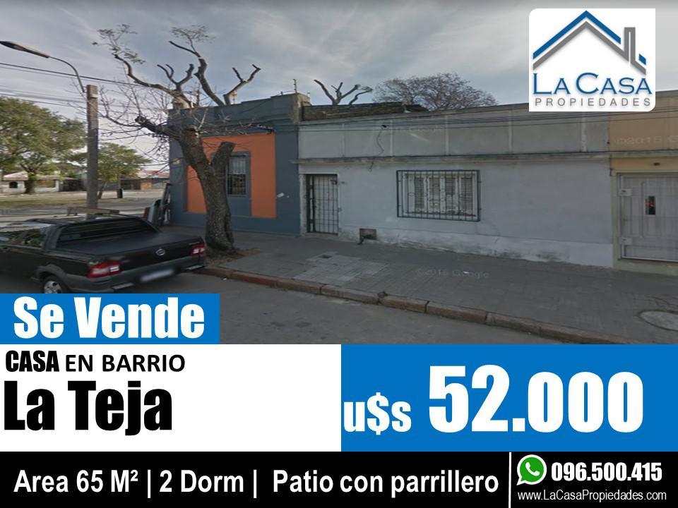 Foto Casa en Venta en  La Teja ,  Montevideo  Antonio Zubillaga al 200