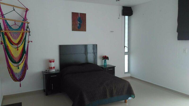 Foto Casa en Renta en  Fraccionamiento Montecristo,  Mérida  En renta residencia minimalista amueblada con 4 habs. y piscina.