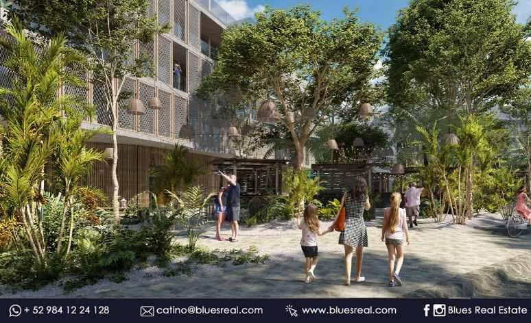Picture Apartment in Sale in  Playa del Carmen,  Solidaridad  NEW 2 bedroom apartment in Tuk Tulum condo   Code 325