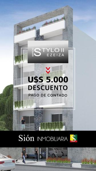Foto Departamento en Venta en  Ezeiza ,  G.B.A. Zona Sur  Jose Maria Ezeiza 262!!! Promocional descuento!!!!