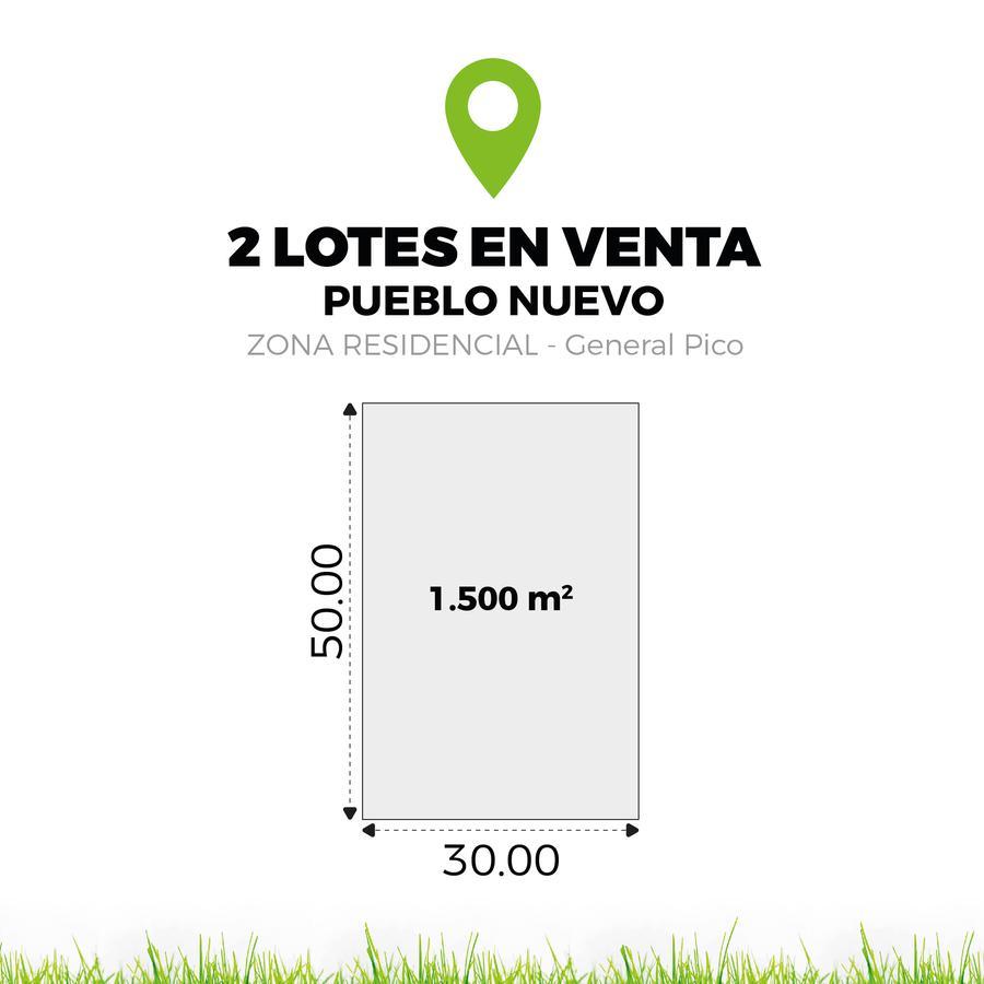 Foto Terreno en Venta en  General Pico,  Maraco  324 esq. 361 - Pueblo Nuevo