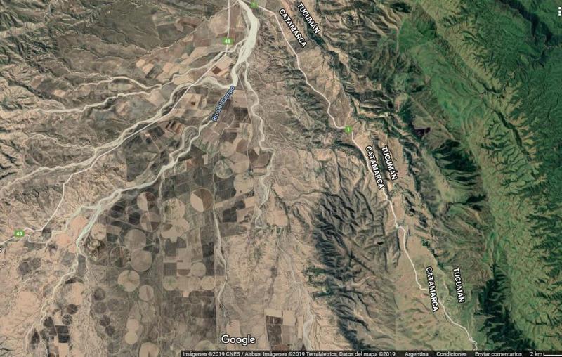 Foto Terreno en Venta en  Andalgala,  Andalgala  VENTA FINCA DE CULTIVO 1,676 Ha - CAMPO DEL PUCARÁ , LAS ESTANCIAS - CATAMARCA