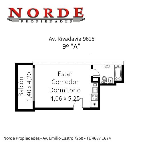 Foto Departamento en Venta en  Villa Luro ,  Capital Federal  Av. Rivadavia 9615 9º A