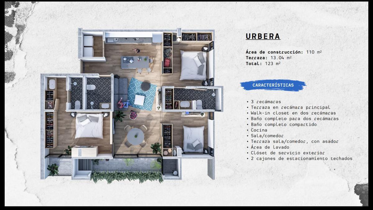 Foto Departamento en Venta en  Fraccionamiento Jardines de La Concepcíon,  Aguascalientes  AERA Departamentos en PreVenta URBERA