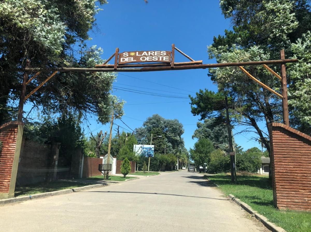 Foto Terreno en Venta en  General Rodriguez ,  G.B.A. Zona Oeste  LOTE Nº 15 URQUIZA E/ ALBERDI Y MARTINEZ