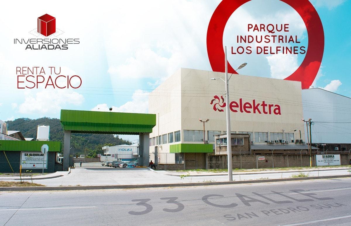 Foto Bodega Industrial en Renta en  El Polvorin,  San Pedro Sula  Bodega en Complejo Delfines, 33 Avenida, SPS