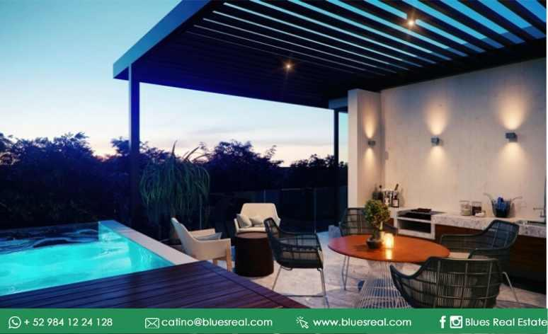 Picture Apartment in Sale in  Tulum ,  Quintana Roo  NEW Condo in The Panoramic Tulum  | Blues Real | Code 643