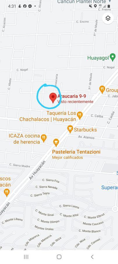 Foto Terreno en Venta en  Álamos I,  Cancún  TERRENO EN VENTA EN CANCUN EN COLONIA ALAMOS