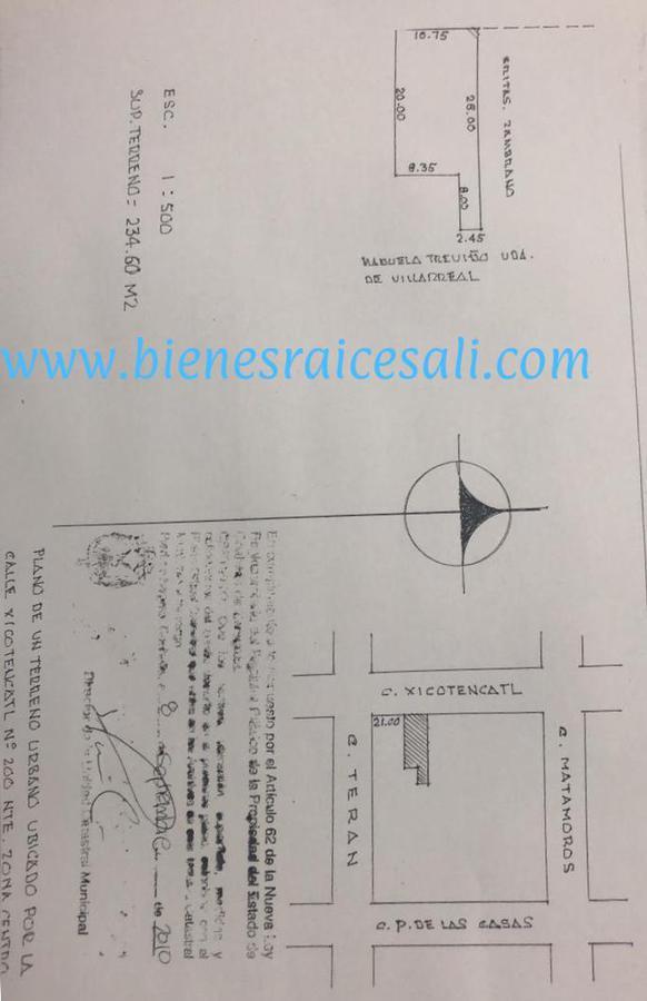 Foto Terreno en Venta en  Piedras Negras ,  Coahuila          Xicotencatl  200