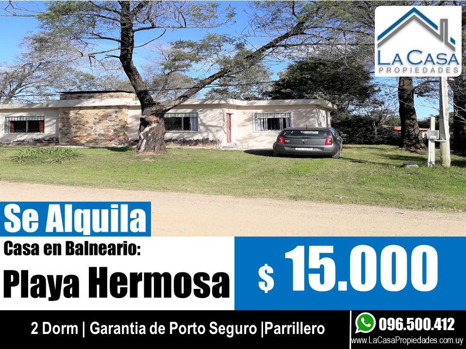 Foto Casa en Alquiler en  Playa Hermosa ,  Maldonado  calle 10 y 23 Playa Hermosa