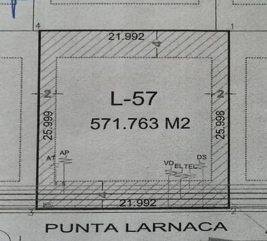 Foto Terreno en Venta en  Punta Tiburón,  Alvarado  PUNTA TIBURON, MARINA Y GOLF, Terreno en VENTA de 572 m2