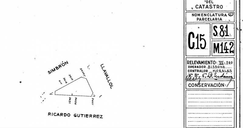 Foto Terreno en Venta en  Villa Devoto ,  Capital Federal  Ricardo Gutierrez  al 3400