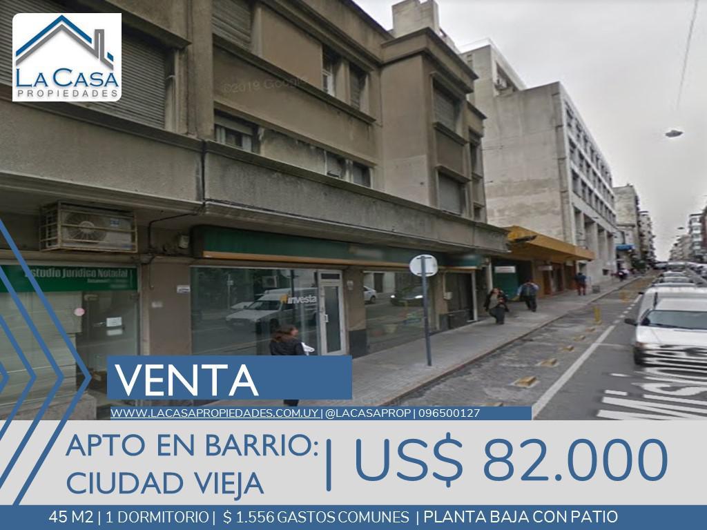 Foto Apartamento en Venta en  Ciudad Vieja ,  Montevideo  Misiones al 1500
