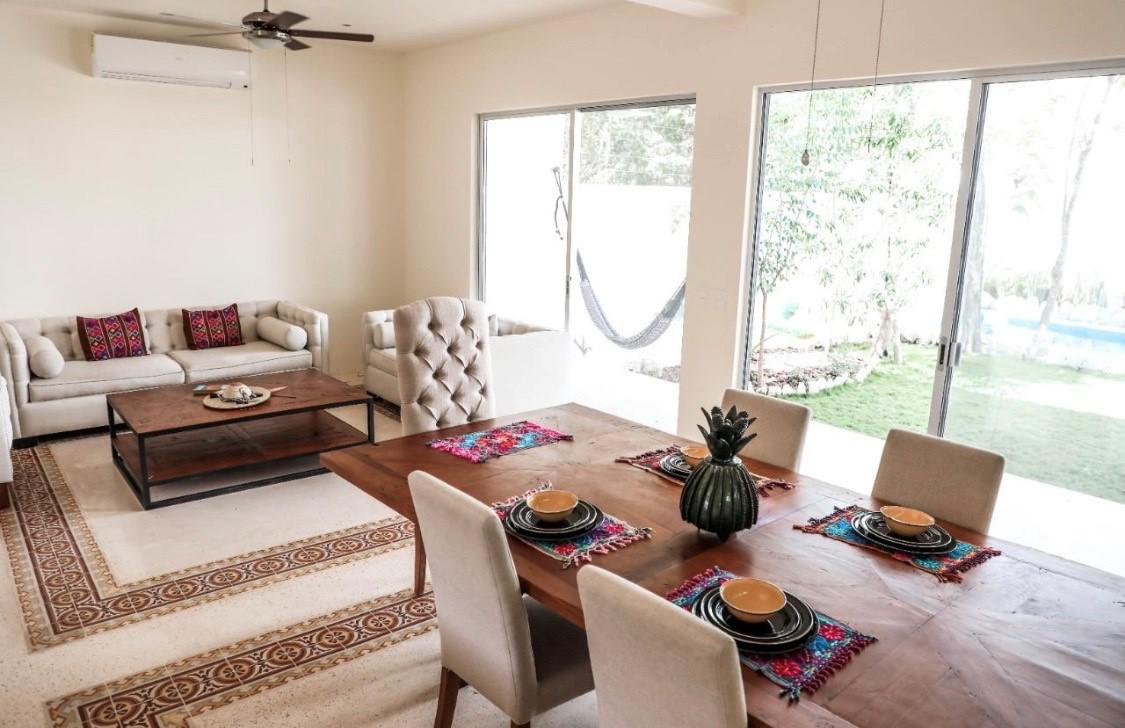 Foto Casa en Venta en  La Veleta,  Tulum  Villa pirvada  de 3 recamaras con Piscina en La Veleta Tulum
