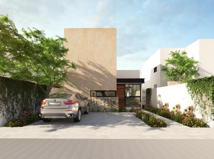 Foto Casa en Venta en  Pueblo Dzitya,  Mérida  Casa venta Dzitya Merida, Privada de 1 planta con alberca