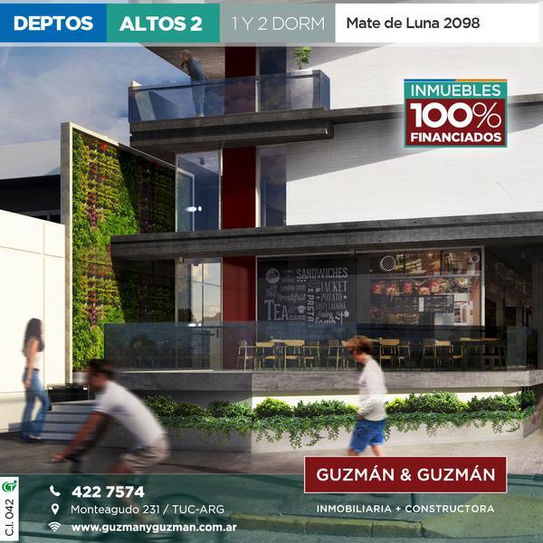 Foto Departamento en Venta en  San Miguel De Tucumán,  Capital  Dpto. financiado de cero hasta en 258 cuotas!