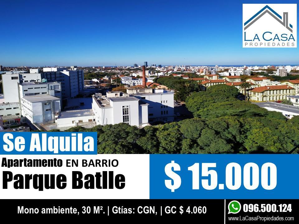 Foto Apartamento en Alquiler en  Parque Batlle ,  Montevideo  Bvar. Artigas al 1600