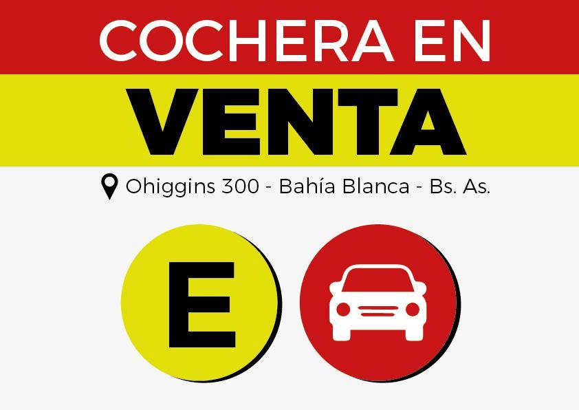 Foto Cochera en Venta en  Bahia Blanca ,  Interior Buenos Aires  ohiggins al 300