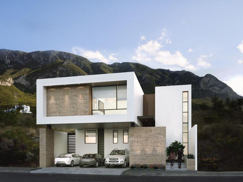Foto Casa en Venta en  Cantizal,  Santa Catarina  (CSM) Hermosa casa Contemporánea en Pre-venta, en Cantizal