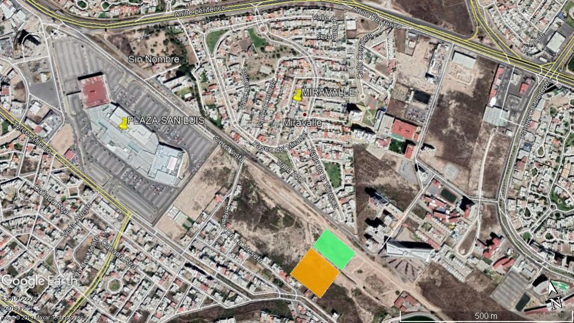 Foto Terreno en Venta en  Lomas del Tecnológico,  San Luis Potosí  TERRENO EN VENTA EN AV. SIERRA VISTA