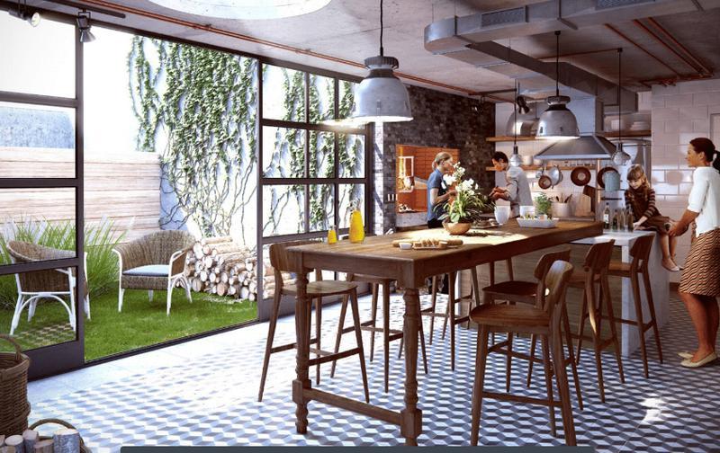 Foto Departamento en Venta   Alquiler en  Pocitos Nuevo ,  Montevideo  Profesional, oficina, vivienda, co living y workplace, apartamento