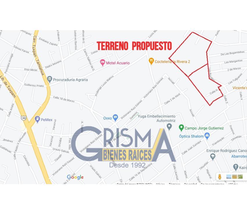 Foto Terreno en Venta en  Las Palmas,  Tuxpan  TERRENOS EN COLONIA LAS PALMAS