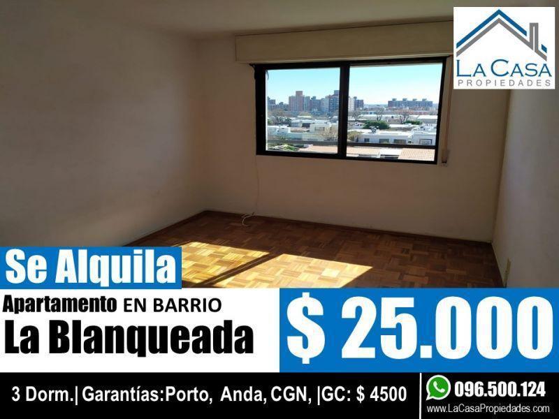 Foto Apartamento en Alquiler en  La Blanqueada ,  Montevideo  MONTE CASEROS 2900