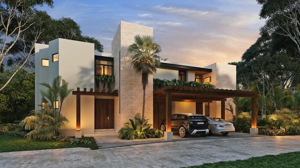Foto Casa en Venta en  Santa Gertrudis Copo,  Mérida  Residencia de Lujo en Cabo Norte, Mesana, Privada con Amenidades